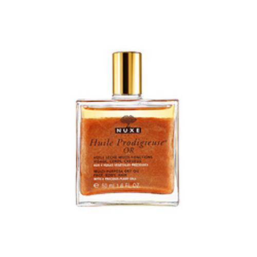 Nuxe Huile Prodigieuse Multi-Purpose Dry Oil Golden shimmer 50ml for women